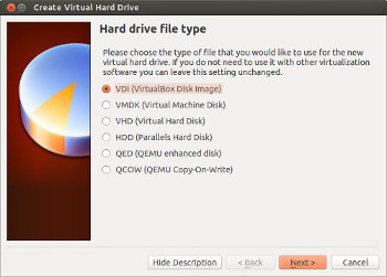 virtualbox crear disco duro virtual