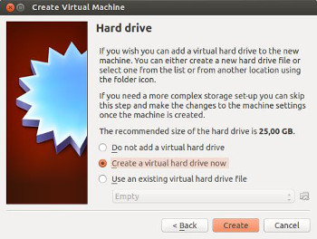 virtualbox crear maquina virtual disco duro