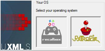 scraper sistema recalbox